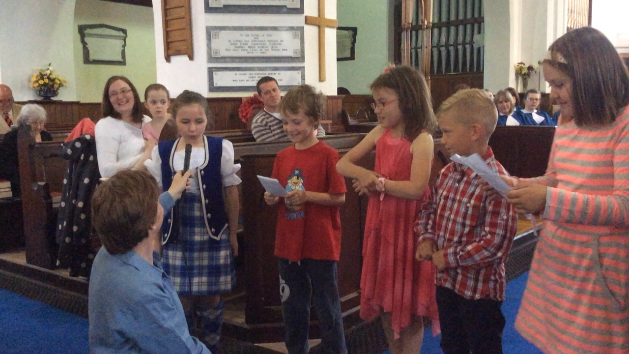 Kidz Choir Performance
